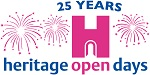 Heritage Open Days 25 anniversary logo