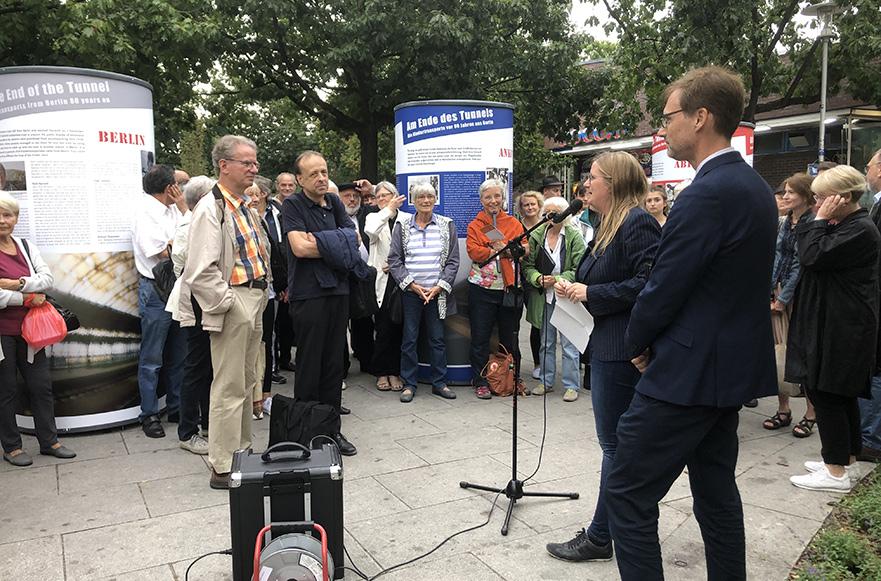 Berlin Kindertransport Exhibition Opening