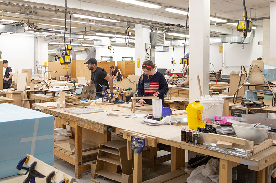 MAU woodwork workshop