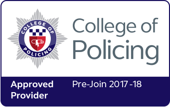 College of Policing Approved Provider 2017-18