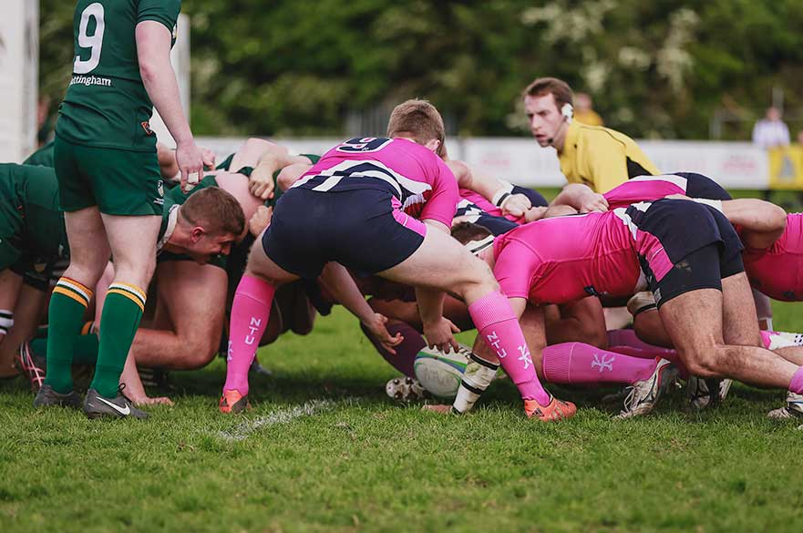 NTU rugby scrum half
