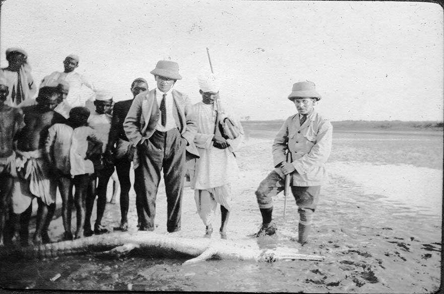 Christmas 1917 Mugger with MacLeod