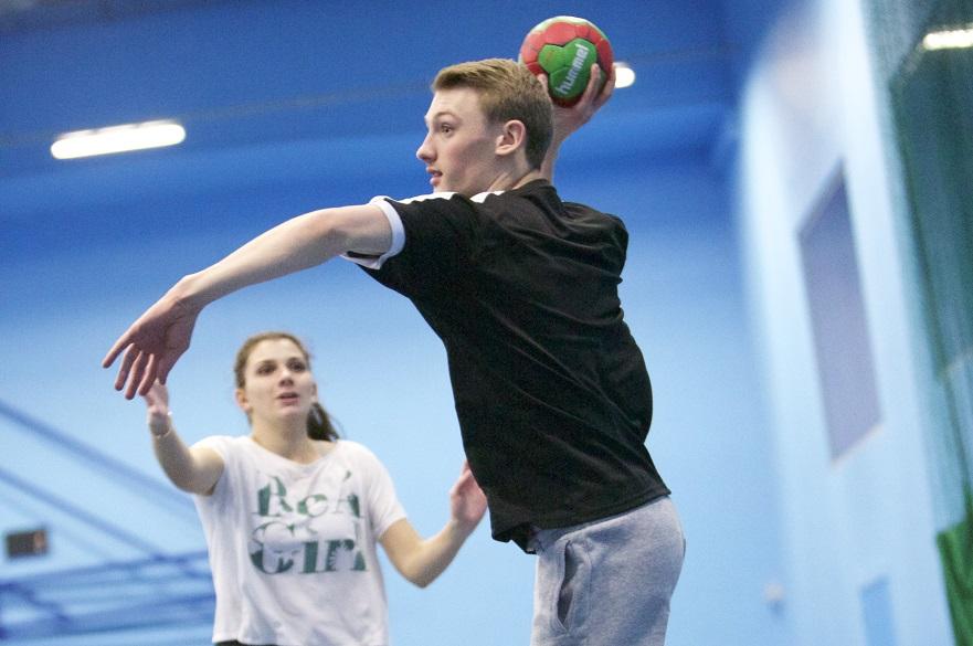 Handball session