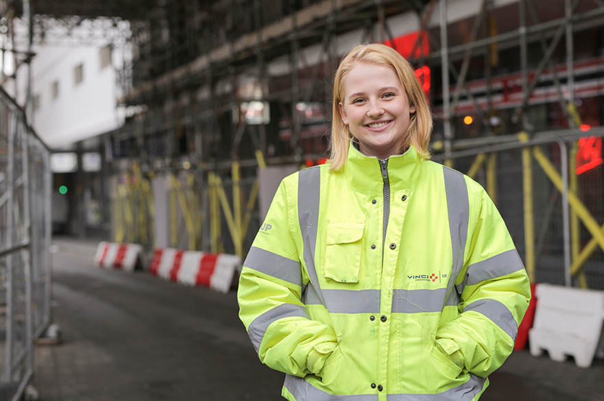 BEng (Hons) Civil Engineering student Millie Dixey