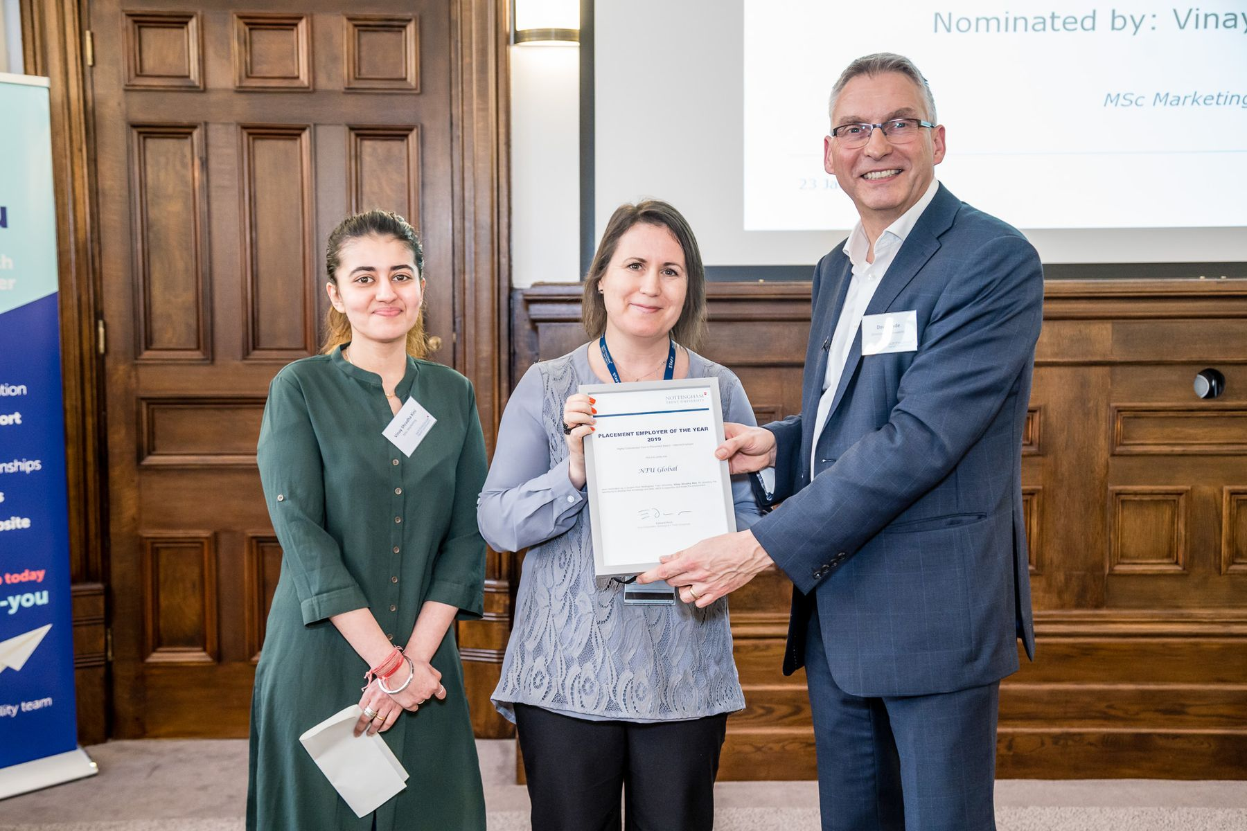 NTU Global receives award