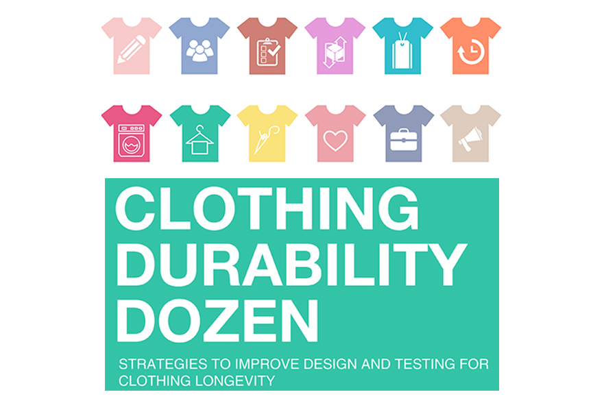 Clothing Durability Dozen: toolkit launch