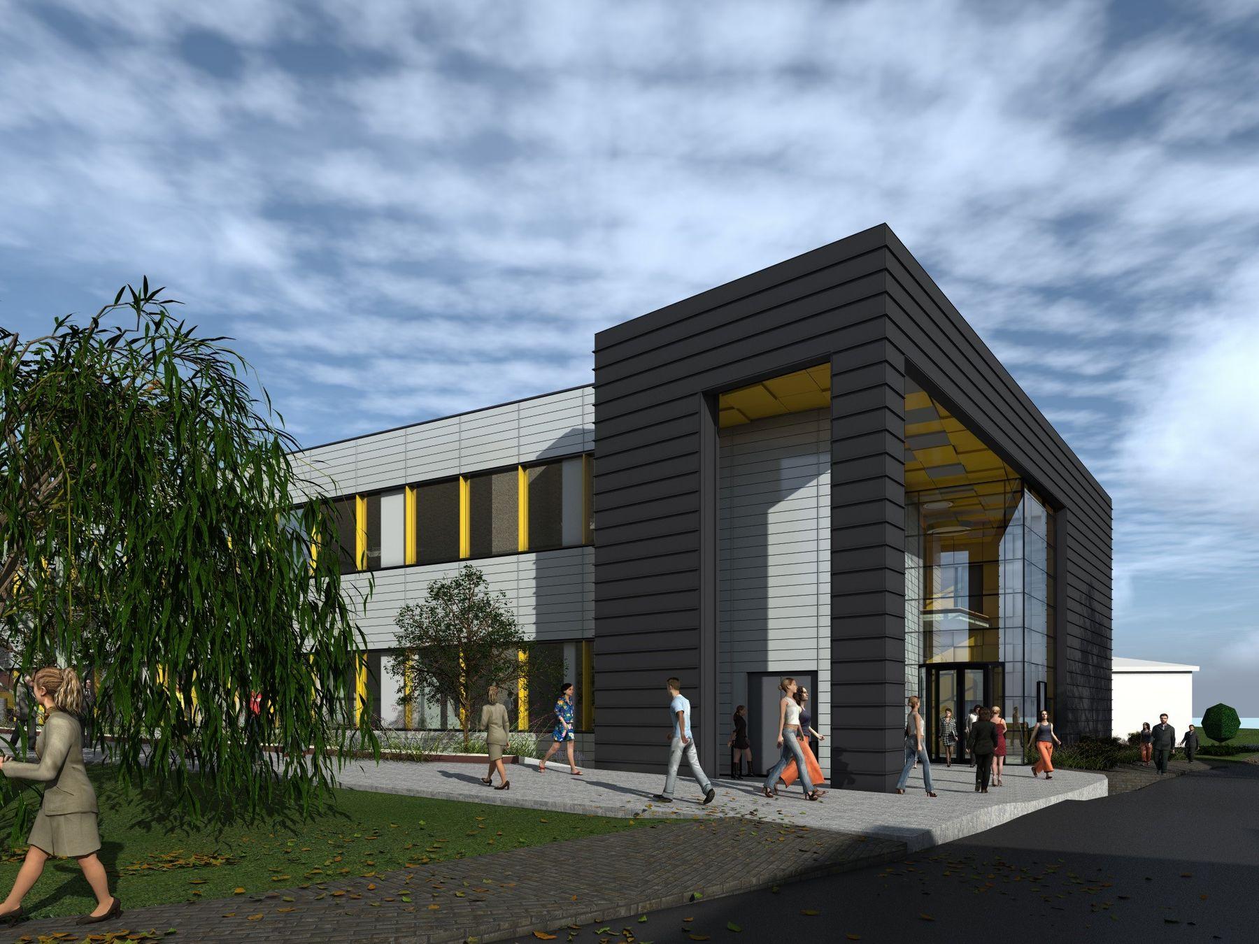 New engineering building