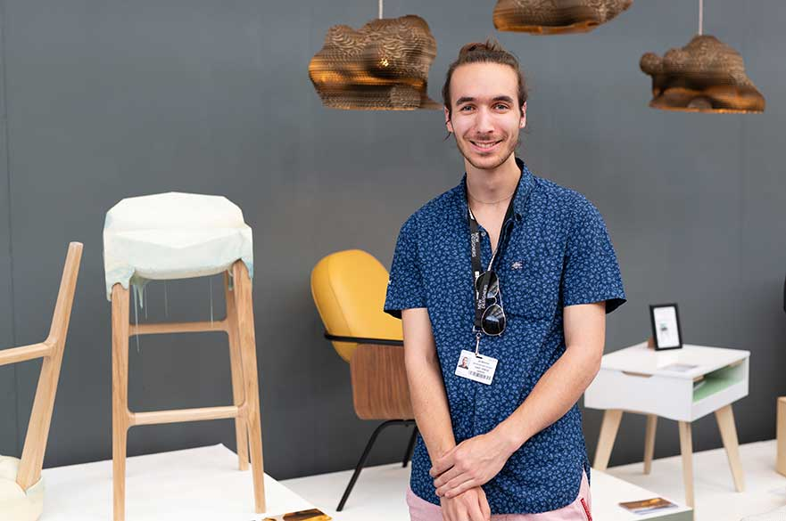 Joe Wonham at New Designers this summer