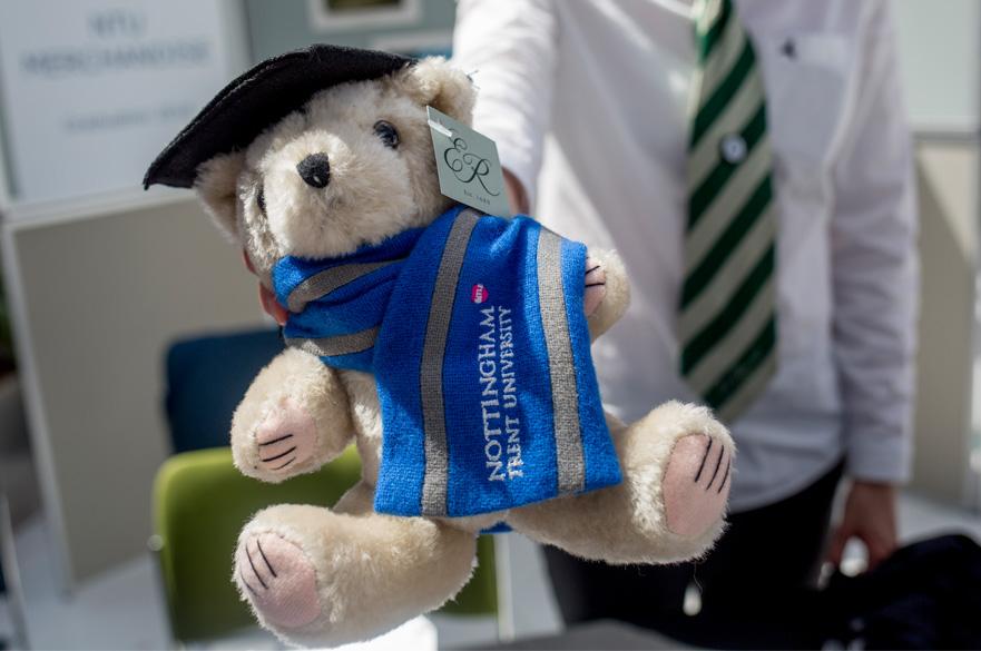 Graduation merchandise bear