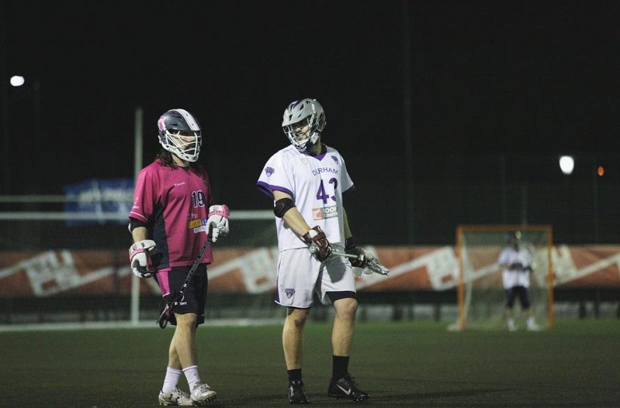 NTU Men's Lacrosse player in action