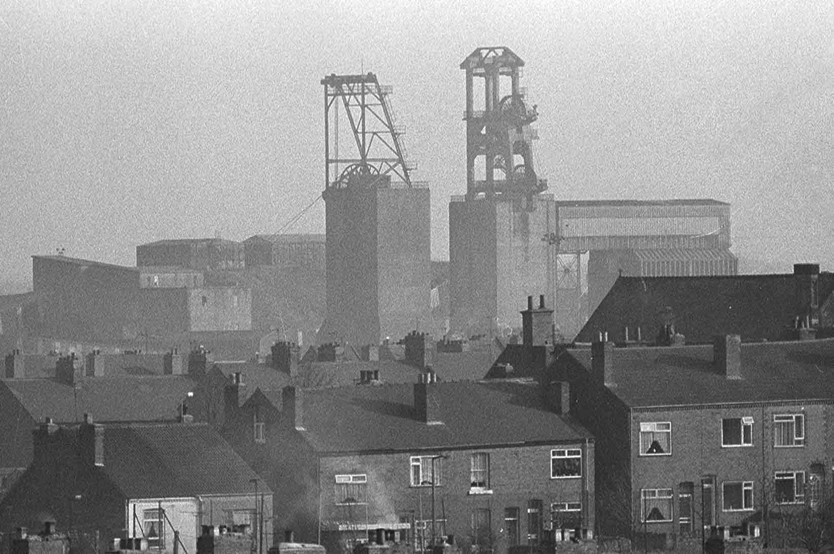 Shirebrook Colliery and Village
