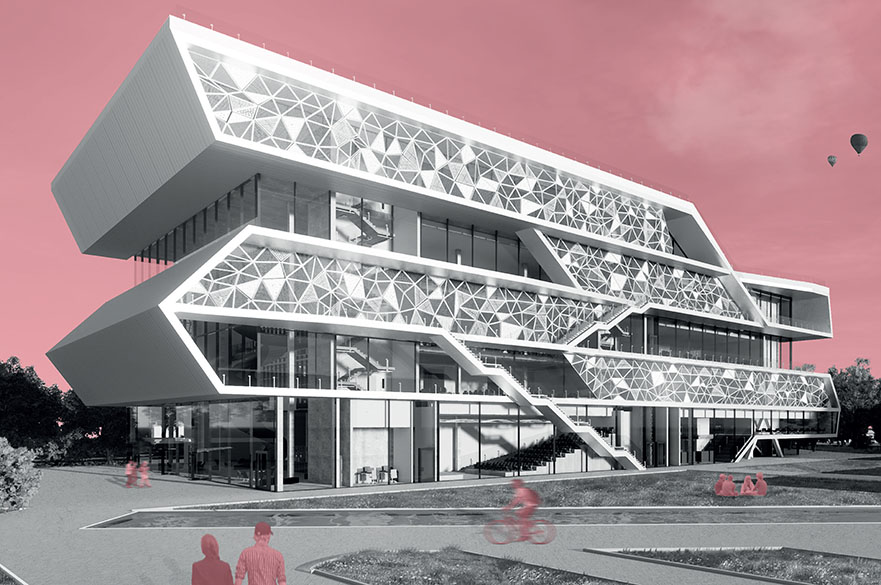 BSc (Hons) Architectural Technology student Hassan Sumeiya work