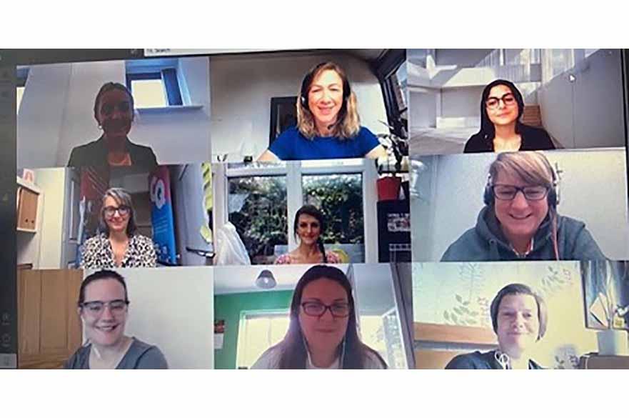 Women in Leadership online learners
