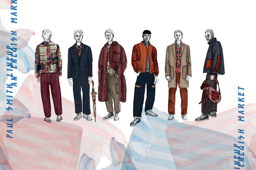 Jessie Craddock's Paul Smith Designs