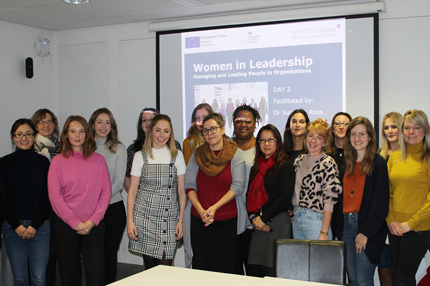 Women in Leadership course group photo delivered in Tuesday 3 December 2019