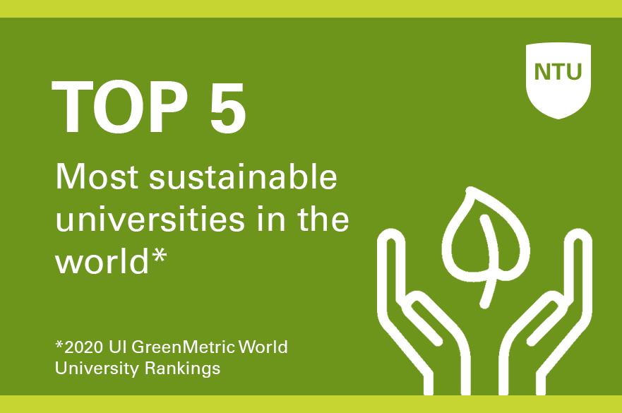 Top 5 University Green Ranking