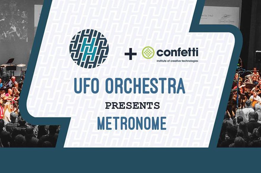 Hockley Hustle and Confetti presents the UFO Orchestra.