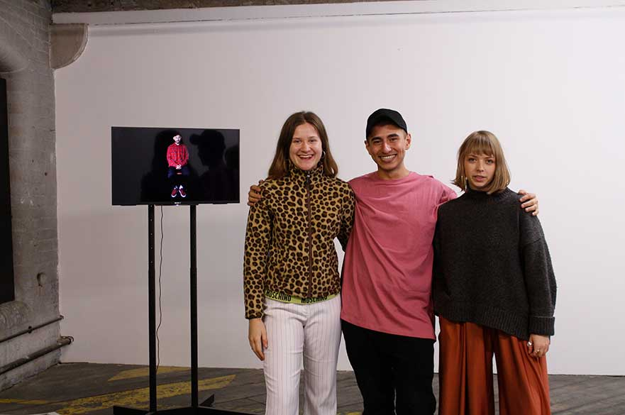 Katie Bishop, Agil Abdullayev and Athanasia Papathanasiou at One Thoresby Street
