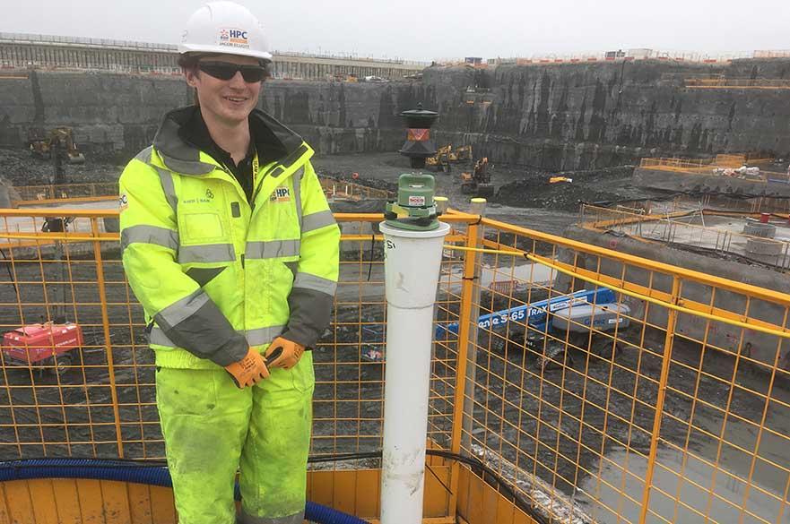 Jacob Elliot on site