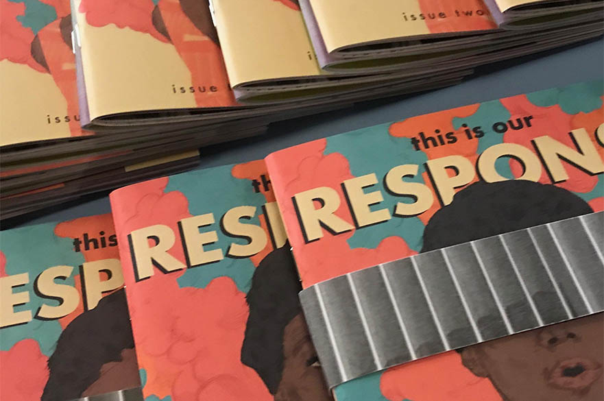 Copies of the response publication