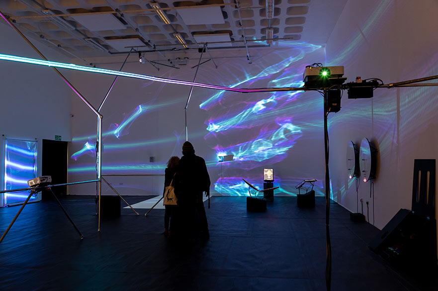 Matt Woodham: Sensing Systems, February – March 2020. Image courtesy of the artist and Jules Lister.