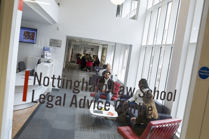 Students at the Legal Advice Centre