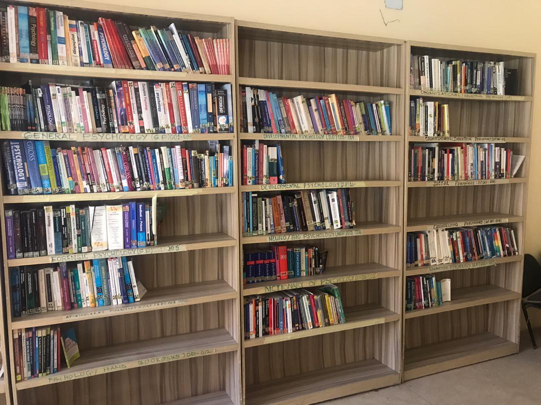 Donated books
