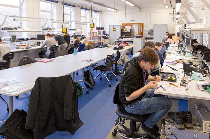 Maudslay technology control prototyping laboratory