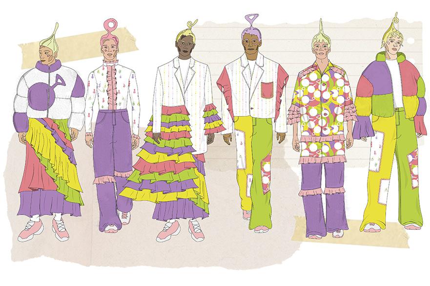 Mia Fowler Teletubbies Fashion Line Up