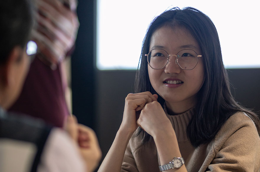 Na Qing - Broadcast journalism student