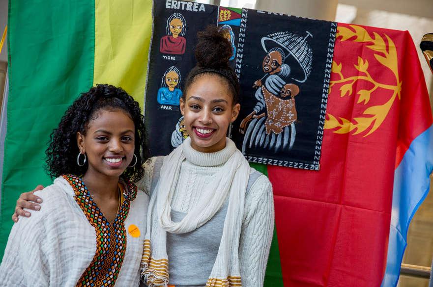 Yodit Mehari Eritrea stand