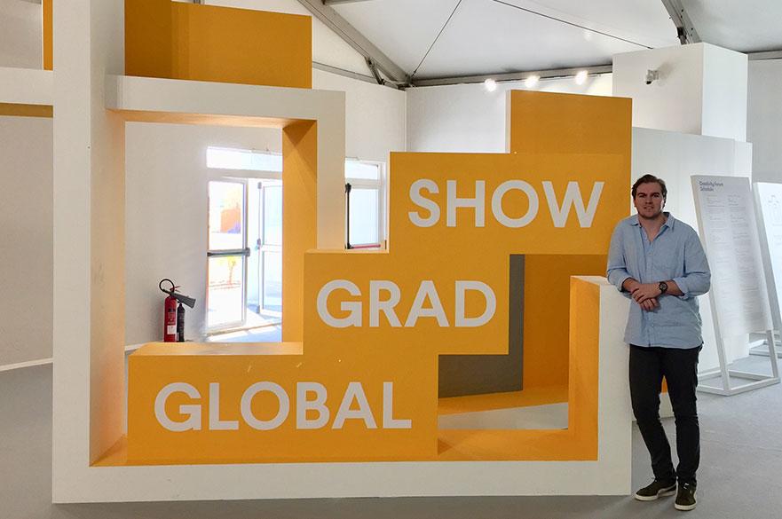 Kieran Moralee at Dubai Design Week