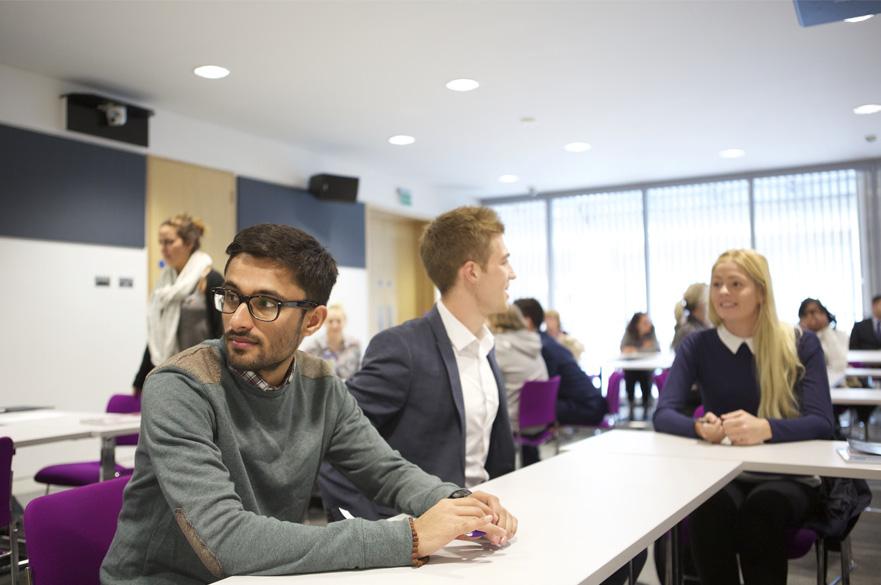 Students in seminar room
