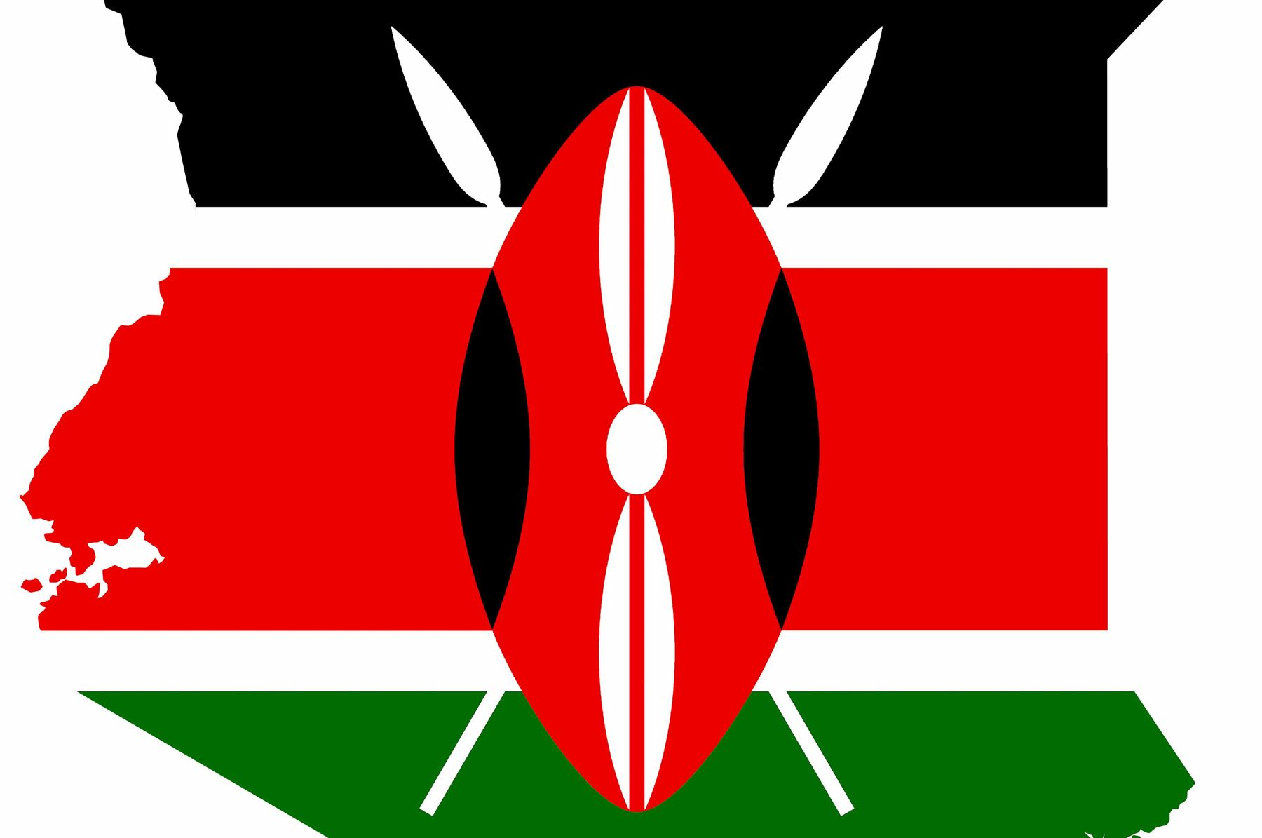 Kenya flag logo