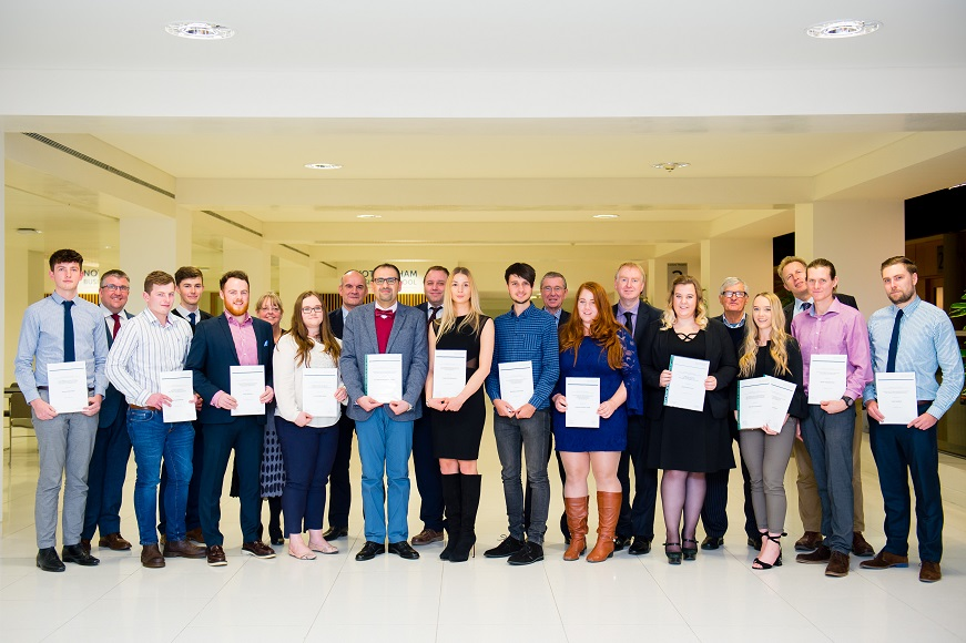 NTU Civil Engineering prize giving recipients
