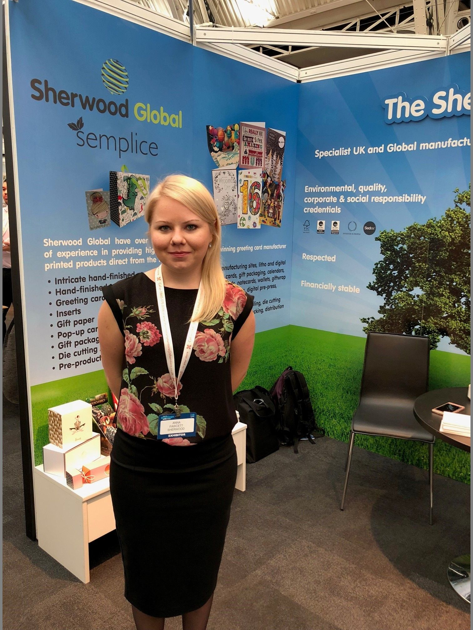 Anna Fawcett, Marketing Manager at The Sherwood Group