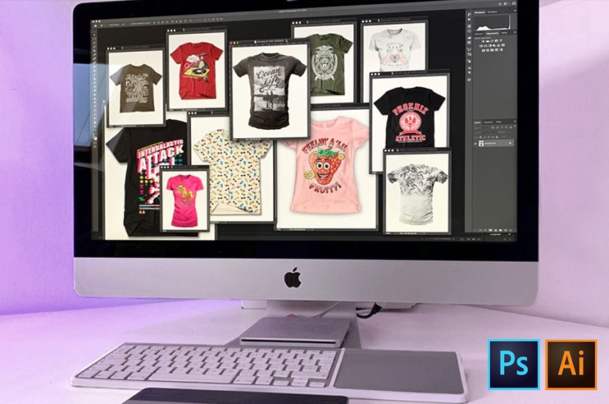 Digital T-Shirt Design and Promotion