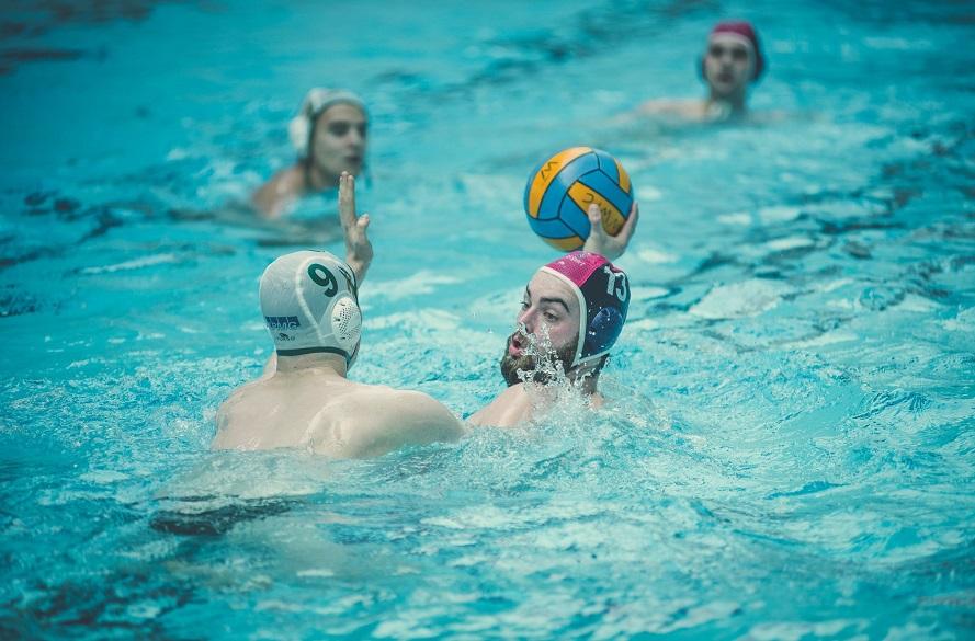 NTU Water Polo Varsity in action.
