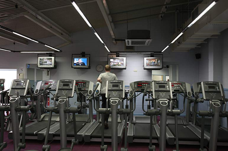 Gym at Southwell Leisure Centre